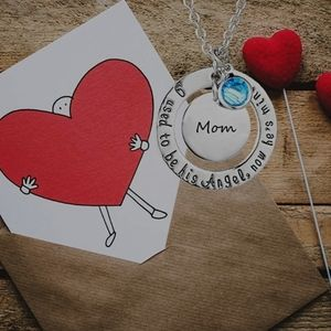 MOMMY ANGEL OF MINE NECKLACE